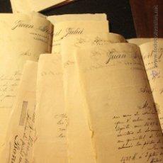 Cartas comerciales: JUAN GISBERT JULIA, CAMPELLO - CORREDOR. ALICANTE S.XIX, 1894, 1895, 1896, 12 DOCUMENTOS -DOCA-. Lote 50627852