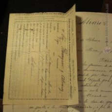 Cartas comerciales: BERENGUER Y ALVAREZ, VIGO, 1899, CARTA COMERCIAL -DOCA-. Lote 50632701