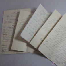 Cartas comerciales: JOAQUIN CASA, ALCOY, 1906-1915, LOTE 5 CARTAS -DOCA-. Lote 51503049
