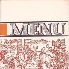 Cartas comerciales: HOTEL DON PEPE / MENÚ / MARBELLA / 29 JUNIO 1964. Lote 51997909