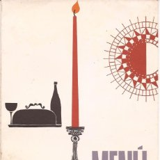Cartas comerciales: HOTEL DON PEPE / MENÚ / MARBELLA / 27 JUNIO 1964. Lote 51997922