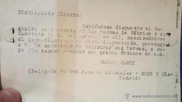 Cartas comerciales: CANET, GESTOR ADMINISTRATIVO COLEGIADO, ALICANTE, A ALCOY, - Foto 2 - 53755538