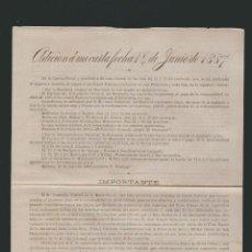 Cartas comerciales: CARTA COMERCIAL DE FELIPE PACHECO. AGENCIA GENERAL DE CLASES PASIVAS DE CUBA. HABANA. CUBA. 1887. Lote 54693760
