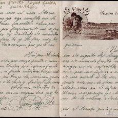 Cartas comerciales: L1-695 CARTA DE AMOR PUBLICITARIA ROMÁNTICA = NUESTRA ILUSION = CIRCULADA EL AÑO 1953. Lote 56180586