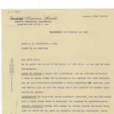 Carta comercial francisco alcalde agente come comprar cartas comerciales antiguas en - Agente comercial colegiado ...