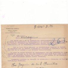 Cartas comerciales: CARTA COMERCIAL. ´´GLORIAS DEL CARMELO´´, REVISTA MENSUAL, TOLEDO, 1924.. Lote 56335564