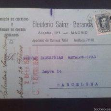 Cartas comerciales: SOLICITUD DE PEDIDO 1930. Lote 106599844