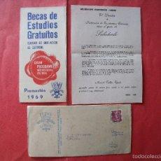 Cartas comerciales: IET.-INSTITUCION ENSEÑANZAS TECNICAS.-CARTA COMERCIAL.-MADRID.-AÑO 1969.. Lote 57912278