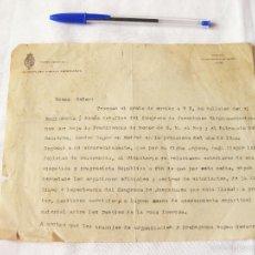 Cartas comerciales: CARTA ENVIADA POR EL CONGRESO DE JUVENTUDES HISPANO AMERICANAS AL MINISTRO DE COLOMBIA. MADRID 1919.. Lote 58663363