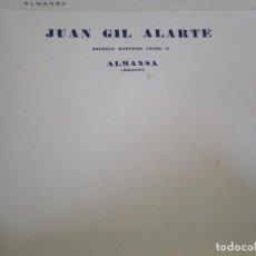 Cartas comerciales: ALMANSA (ALBACETE). CABECERA DE CARTA COMERCIAL JUAN GIL ALARTE. Lote 67039862
