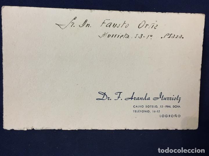 Cartas comerciales: tarjeta medico niños maternidad madrid partos enfermedades mujer logroño analisis aranda iturroitz - Foto 2 - 67973825