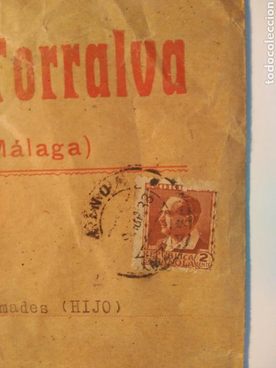 Cartas comerciales: Ronda (Málaga) 1933. República Española - Foto 2 - 71073583