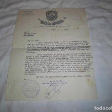 Cartas comerciales: CARTA COMERCIAL COMPAÑIA ANONIMA DE SEGUROS BILBAO 1963. Lote 71810059