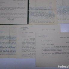 Cartas comerciales: LOTE DE 6 CARTAS DEL ESCRITOR FELIPE SASSONE A JAVIER DE BURGOS, AÑO 1954-57 CON FIRMA AUTOGRAFA. Lote 72012775