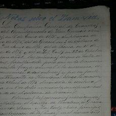 Cartas comerciales: DOCUMENTOS SOBRE LA CREACIÓN DEL TRANVÍA EN BARCELONA AÑO 1876. Lote 78297999