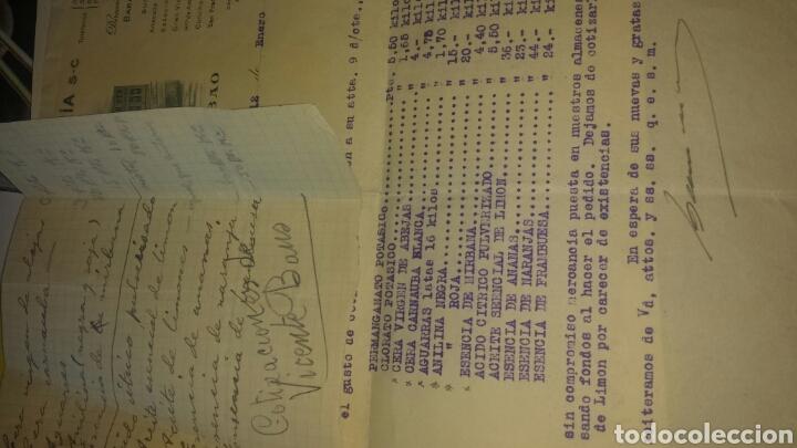 Cartas comerciales: COTIZACIÓN BARANDIARAN Y COMPAÑIA SC, BILBAO 1935- PRODUCTOS QUIMICOS - Foto 2 - 80003543