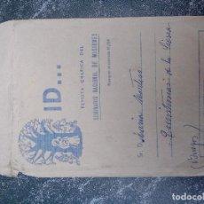 Cartas comerciales: SOBRE PUBLICITARIO DEL SEMINARIO NACIONAL DE MISIONES - USADO - FRANQUEO CONCERTADO- 1960.... Lote 85153404