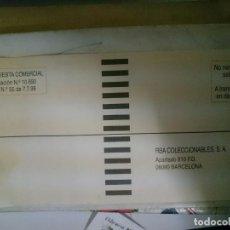 Cartas comerciales: SOBRE RESPUESTA COMERCIAL RBA COLECCIONABLES -AÑOS 80. Lote 85461888