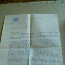 Cartas comerciales: CARTA DE LA EMBAJADA DE ESPAÑA EN BUENOS AIRES. Lote 85482148