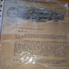 Cartas comerciales: COSECHERO DE PIMENTÓN HIGOS, HIJO DE JOSÉ HERNÁNDEZ MATEOS, PLASENCIA. LOS TRES AMIGOS. 1949. Lote 86937606