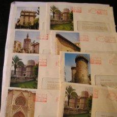 Cartas comerciales: SOBRES DE FRANQUEO MECANICO CAJA DE AHORROS Y MONTE DE PIEDAD DE VALENCIA. Lote 96162207