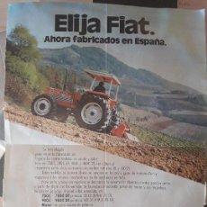 Cartas comerciales: CARTA COMERCIAL FIAT TRATTORI / TRACTOR FIAT. PRIMEROS FABRICADOS EN ESPAÑA. Lote 96238459