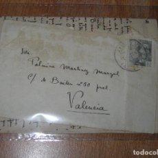 Cartas comerciales: JAIME SCALS CERAMISTA DE VALENCIA MANUSCRITO ENORME CARTA DESDE SOT 4 PAGINAS 1941. Lote 43166288