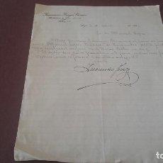 Cartas comerciales: CARTA MANUSCRITA LUGO 1926. Lote 96857783