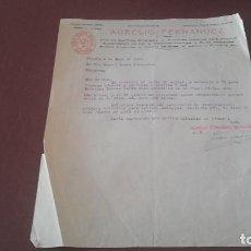 Cartas comerciales: CARTA 1926 CORUÑA BECERREÁ. Lote 96860119