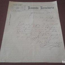 Cartas comerciales: CARTA 1926 LUGO. Lote 96860211