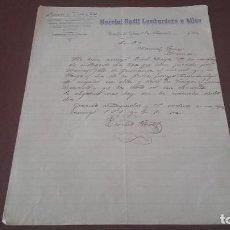 Cartas comerciales: CARTA 1926 LUGO. Lote 96860403