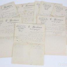 Cartas comerciales: ANTIGUAS CARTAS COMERCIALES - EL BUEN GUSTO. CAMISERÍA... / T. MARIBLANCA - CARTAGENA, AÑO 1909. Lote 97935667
