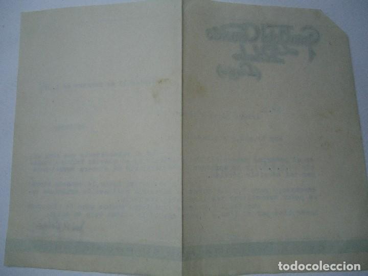 Cartas comerciales: 1943 carta con membrete GRAN HOTEL COMERCIO RIBADEO LUGO - Foto 3 - 101095423