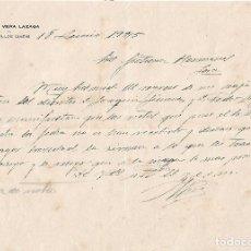 Cartas comerciales: CARTA COMERCIAL. IGNACIO VERA LAZAGA. ARQUILLOS. JAÉN. ESPAÑA 1925. Lote 101211211