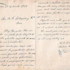 Cartas comerciales: CARTA COMERCIAL. CÍRCULO RECREATIVO. CARMONA 1924. Lote 101212411
