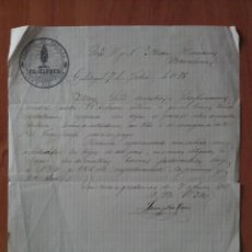 Cartas comerciales: 1875 CALATAYUD : CARTA COMERCIAL. Lote 103190523