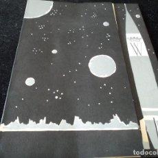 Cartas comerciales: CARTA DE GALA DE NOCHEVIEJA EN EL ESPACIO 1963 HOTEL WELLINGTON DE MADRID 22 X 28 CM. Lote 105018127