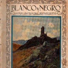Cartas comerciales: REVISTAS BLANCO Y NEGRO Nº 1938. MADRID 8 JULIO 1928. VER ARTÍCULOS:. Lote 106038391