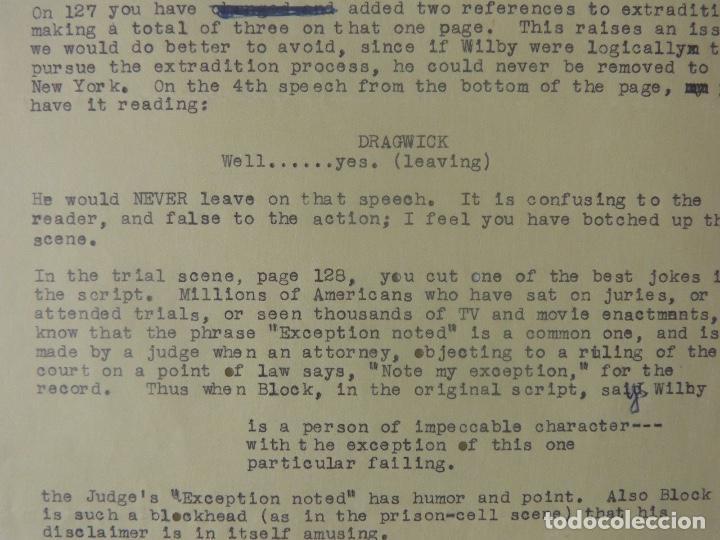 Cartas comerciales: Marc Brandel signed letter/22nd October,1968 - Foto 3 - 107748155