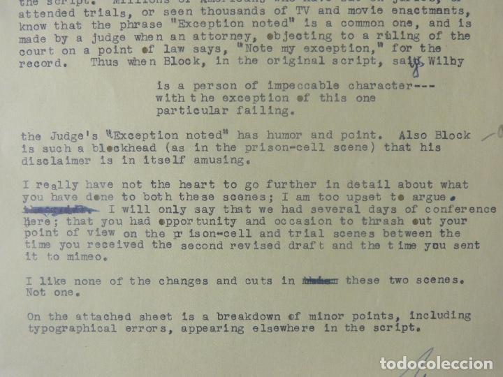 Cartas comerciales: Marc Brandel signed letter/22nd October,1968 - Foto 4 - 107748155