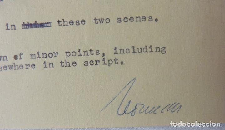 Cartas comerciales: Marc Brandel signed letter/22nd October,1968 - Foto 5 - 107748155