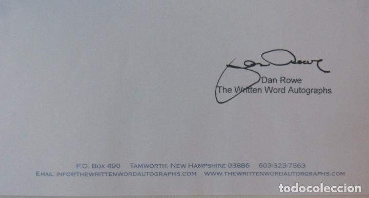 Cartas comerciales: Richard Burton signed contract/1979/ 8 ½ x 11 - Foto 2 - 109449623