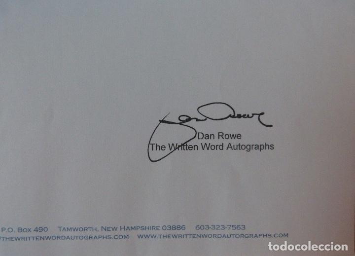 Cartas comerciales: Richard Burton signed contract/1979/ 8 ½ x 11 - Foto 7 - 109449623