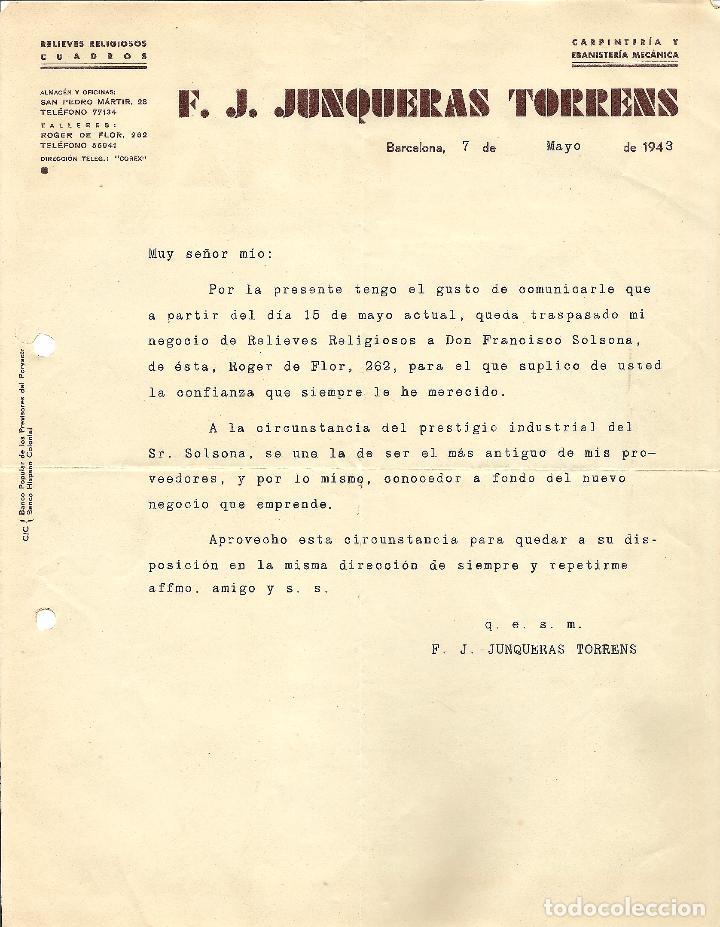 barcelona - f.j. junqueras torrens - relieves r - Comprar Cartas ...