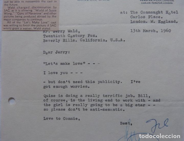 Cartas comerciales: Ray Stark signed letter,1960, Paramount British pictures. - Foto 3 - 110754755