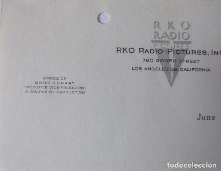 Cartas comerciales: Dore Schary signed letter, June 4, 1948 - Foto 2 - 110757775