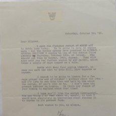 Cartas comerciales: MARC BRANDEL SIGNED LETTER, OCTOBER 5 TH, 1968. Lote 110836271