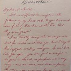 Cartas comerciales: DELBERT MANN FIRMADO ALS, 1971?.. Lote 112932295