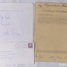 Cartas comerciales: ARTHUR PENN SIGNED LETTER ANSS. Lote 116134311