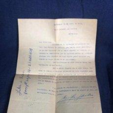 Cartas comerciales: BANCO ESPAÑOL DE CREDITO CARTAGENA ABRIL 1939 CONCESION CREDITO 1000 PESETAS. Lote 116270135